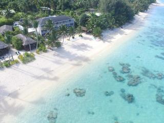 Moana Sands Cook Islands - Moana Sands Hotel Aerial