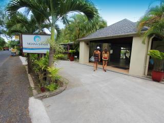 Moana Sands Cook Islands - Moana Sands Hotel Entrance
